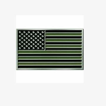 Buckle USA Flag Subdued