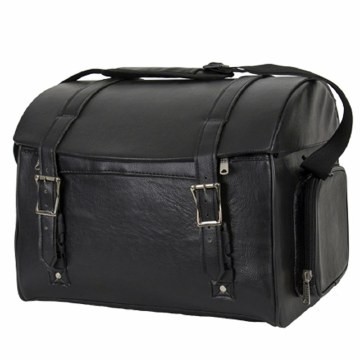 Black PVC Trunk Bag