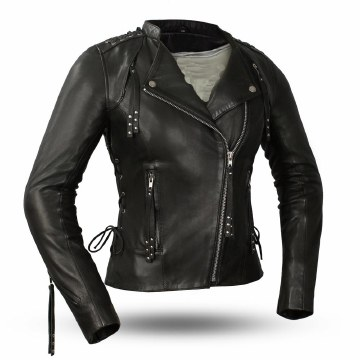 Ladies Black Widow Jacket