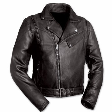 60's New Yorker Jacket Black
