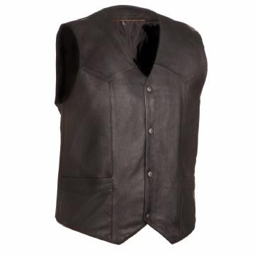 Men's Texan Vest Black