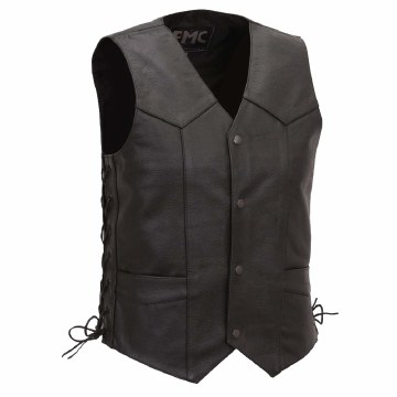 Classic 4 Snap Vest Side Laced