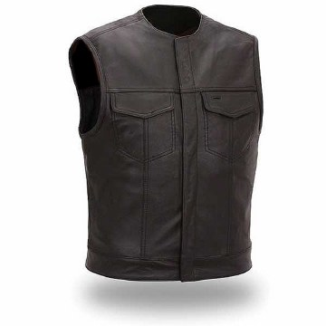 No Rival-Naked Leather Vest