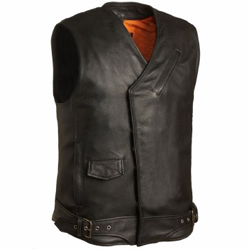 Men's Vest The Veteran Black