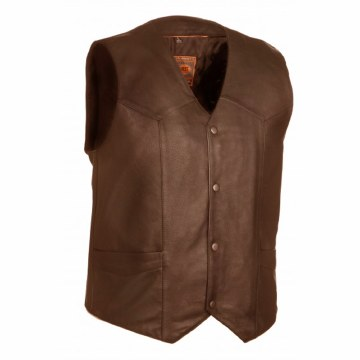 Men's Texan Vest Brown