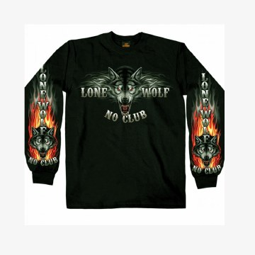 Men's LS Shirts Lone Wolf