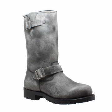 Men's Soft Stone Wash Eng Boot