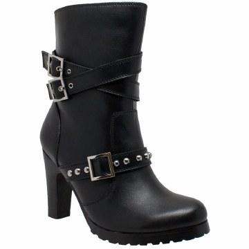 Ladies 3 Buckle Boot