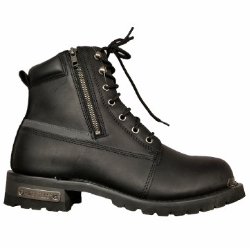 "Mens 6"" Refr Dble Zipper Boot"