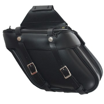 Angle Saddlebag with Zipper