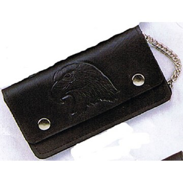 "7"" Oiltanned Wallet/Eagle"