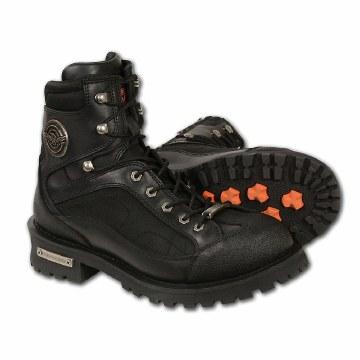 """Men's 6"""" Side Zipped Boot Bk"""