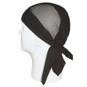 Black Air Flow Headwrap