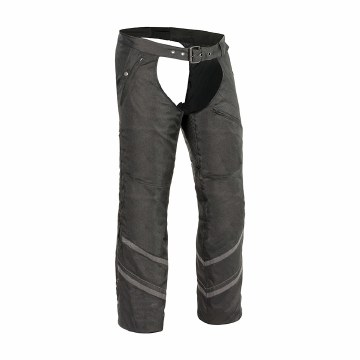 Men's Textile ChapsW/Refl Tape