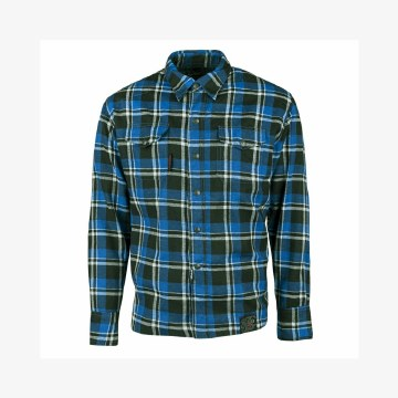 Black 9 Moto Shirt Blue/Black