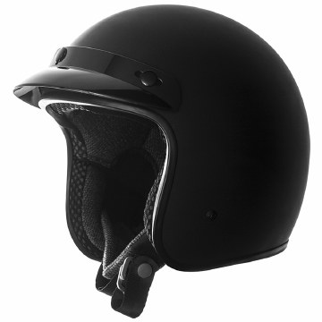 SS610 3/4 Helmet Matte Black