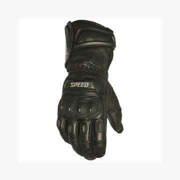 Revolt Leather Glove Black
