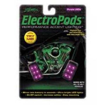 ElectroPod Rectangle Blk/Purp