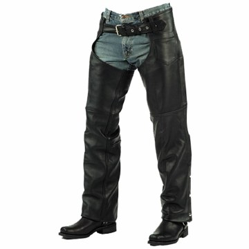 Chaps Basic Naked Leather Blk