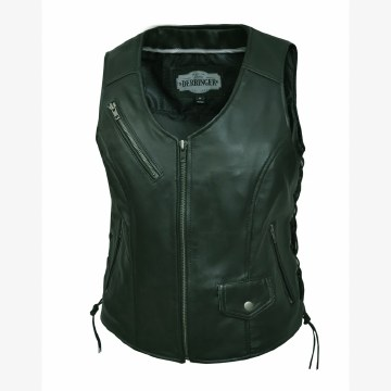 Ladies CC Lambskin Vest