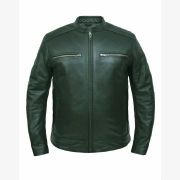 Men's Cow Hide  Leather Jacket