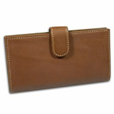 Checkbook Cover Brown