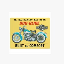 H-D Built For Comfort Sign