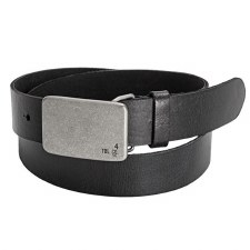 32MM TBL Pkaque Belt Black