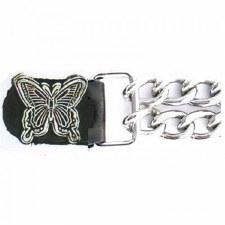 Vest Extender/Silver Butterfly