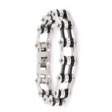 "1/4"" SS Bracelets W/Crystals"