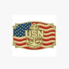 Buckle USN Anchor