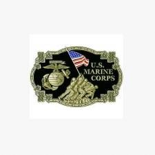 Buckle USMC IWO JIMA