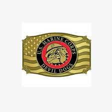Buckle USMC Bulldog