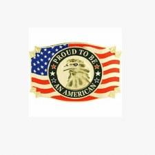 Buckel USA Eagle Proud