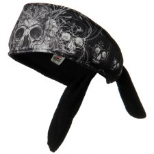 Headband DaVinci Skull