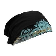 Zan Headwrap Metallic Rose