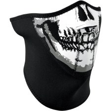 Half Mask Neoprene Skull Face