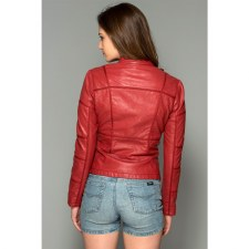 Flare Up The  town Jacket Red
