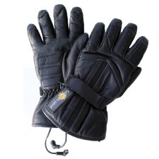 Leather Gloves (Unisex) Black