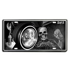 Tin License Plates Showtime