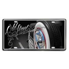 Tin License Plates Old Skool