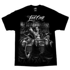 Men's T-Shirt Last Call Black