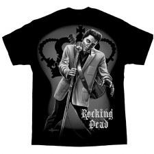 Men's T-Shirt Rocking Dead Blk