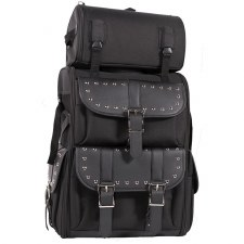 PVC Sissybar Bag W/Studs