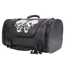 PVC SissyBar Bag/TruckW/Skull