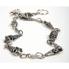 """25"""" Skull Biker Chain"""