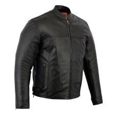 Men's Scooter Jacket Front Zip
