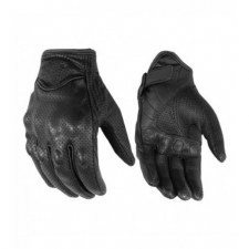 Perforated Sporty Glove Bk