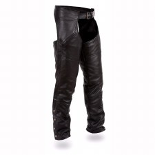 Nomad Drum Rolled Chaps Black