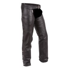 Jean Style Chaps-Cowhide-Tall